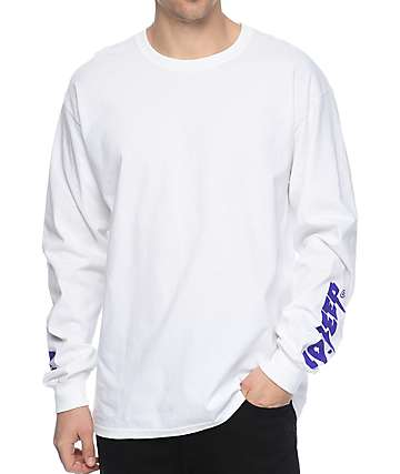 10 Deep Sound & Fury White Long Sleeve T-Shirt