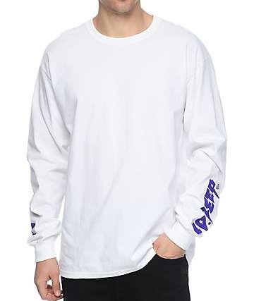 10 Deep Sound & Fury White Long Sleeve T-Shirt