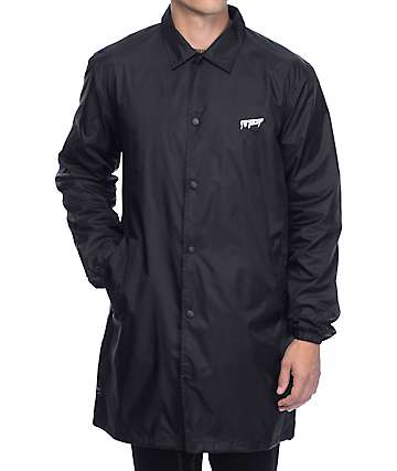 10 Deep Sound and Fury Black Coaches Jacket