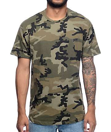 10 Deep Sound and Fury Scoop Camo T-Shirt