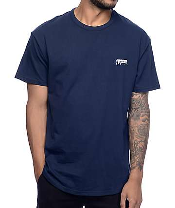 10 Deep Sound and Fury Scoop Navy T-Shirt