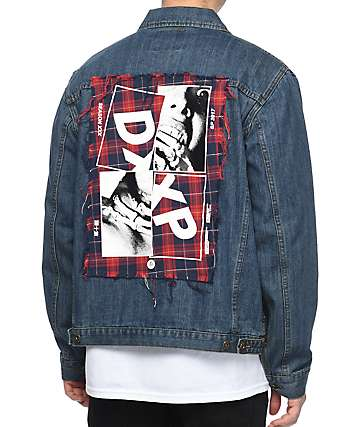 10 Deep Steel Toe Denim Jacket