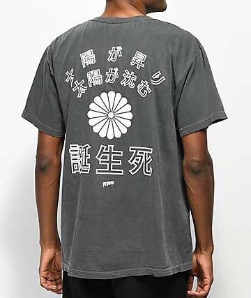 10 Deep The Sun Also Sets Black T-Shirt