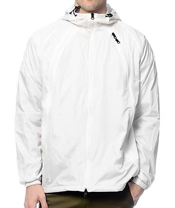 10 Deep Triple Zip Nylon Shell Jacket