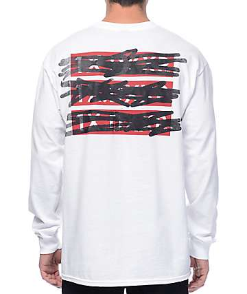 10 Deep WTH? White Long Sleeve T-Shirt