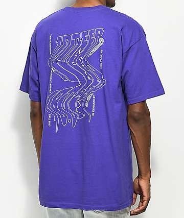 10 Deep Warp Purple T-Shirt