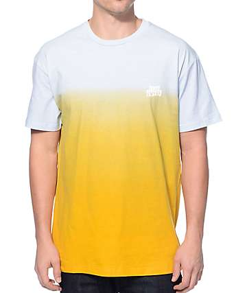 10 Deep Warped Fade Away Gold T-Shirt
