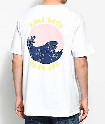 10 Deep Waves camiseta blanca