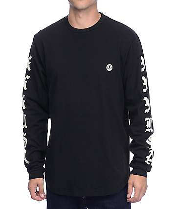 10 Deep XXX USA Long Sleeve Black T-Shirt