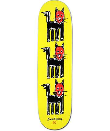"3D Anderson Cat 8.5"" Skateboard Deck"