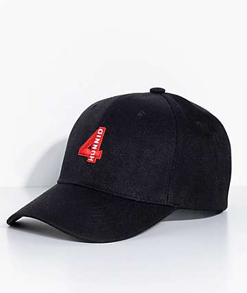 4 Hunnid Black Baseball Hat