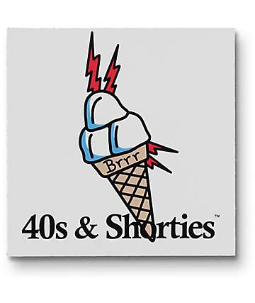 40's & Shorties BRRR pegatina