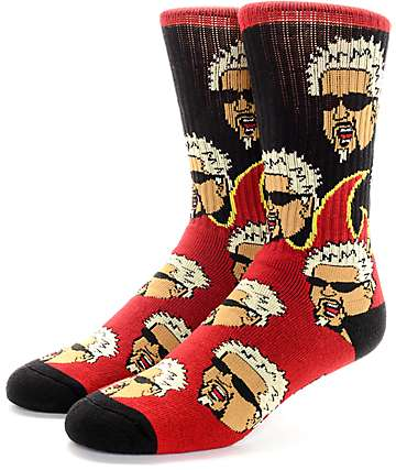 40's & Shorties Flavortown Crew Socks