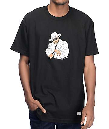 40's & Shorties Sweet Jones camiseta negra