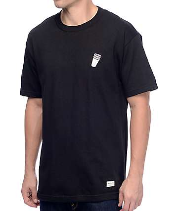 40s & Shorties Double Cup Black T-Shirt