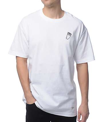 40s & Shorties Double Cup White T-Shirt