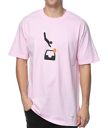 40s & Shorties Down In The DM Pink T-Shirt