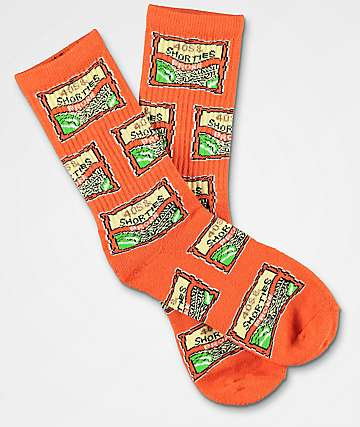 40s & Shorties Ramen Orange Crew Socks