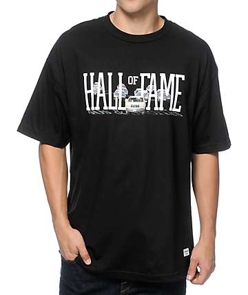 40s & Shorties x Hall Of Fame Bronco Black T-Shirt