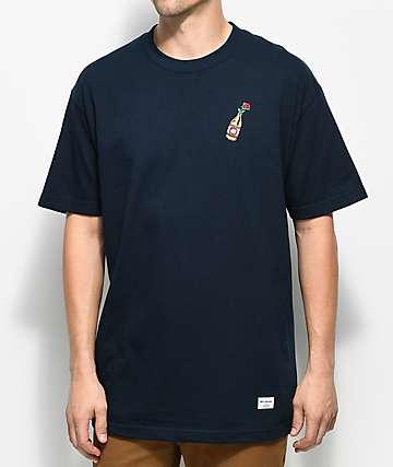 40s & Shorties Rose 40 camiseta en azul marino