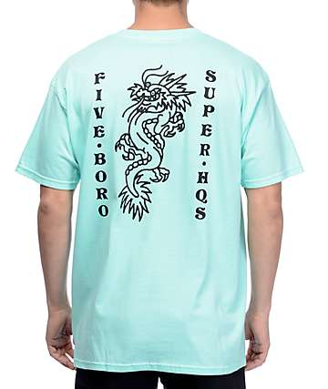 5BORO Dragon Mint T-Shirt