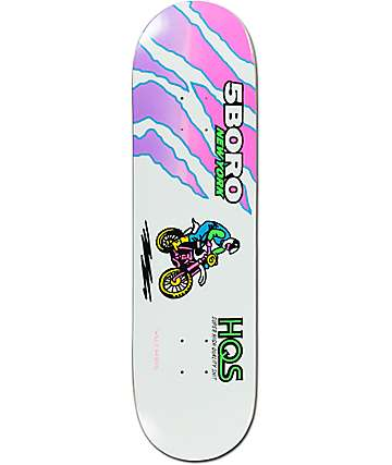 "5Boro Akers Dirt Bike 8.5""  Skateboard Deck"