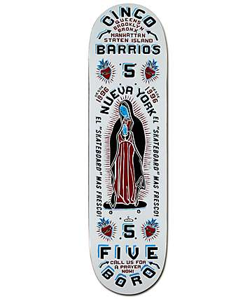 "5Boro Cinco Barrios 8.5""  Skateboard Deck"