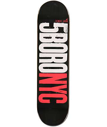 "5Boro Letterpress 8.0"" Skateboard Deck"