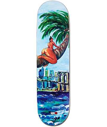 "5Boro Palm Chica Caliente 8.25"" Skateboard Deck"
