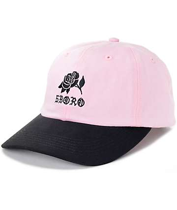 5Boro Rose Pink Six Panel Hat