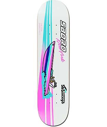 """5Boro Took & Falla Boat 7.75"""" Skateboard Deck"""