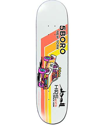 "5Boro Trahan Pick Up Moto 8.0""  Skateboard Deck"