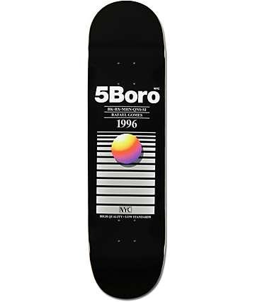 "5boro Gomes VHS 8.0""  Skateboard Deck"