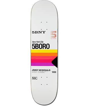 "5boro Jimmy VHS 8.0"" Skateboard Deck"