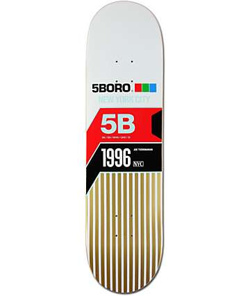 "5boro Tookmanian VHS 8.25""  Skateboard Deck"