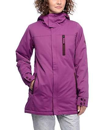 686 Authentic Eden Mulberry 10K chaqueta de snowboard