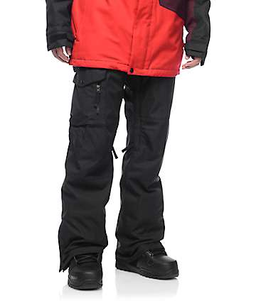 686 Authentic Rover Black Snowboard Pants