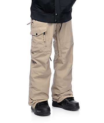 686 Authentic Rover Khaki Snowboard Pants