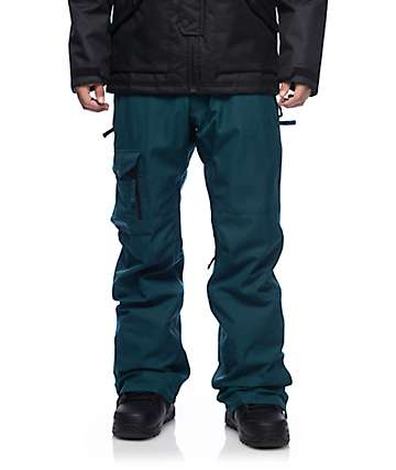 686 Authentic Rover pantalones de snowboard en color jade