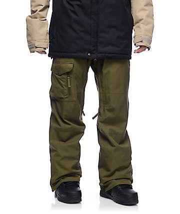 686 Authentic Rover pantalones de snowboard en color olivo