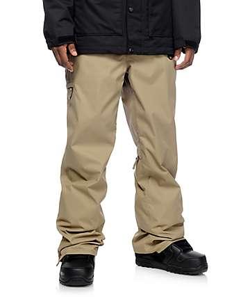 686 Authentic Standard pantalones de snowboard en color caqui