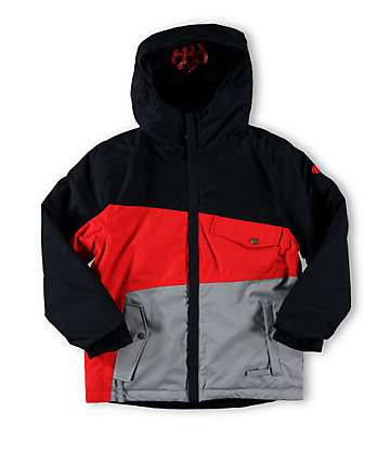 686 Boys Authentic Angle 10k Snowboard Jacket