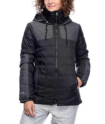 686 GLCR Uptown chaqueta de snowboard en negro con relleno