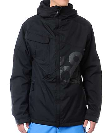 686 Iconic 8K Black Snowboard Jacket