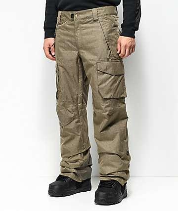 686 Infinity Cargo Khaki 10K Snowboard Pants