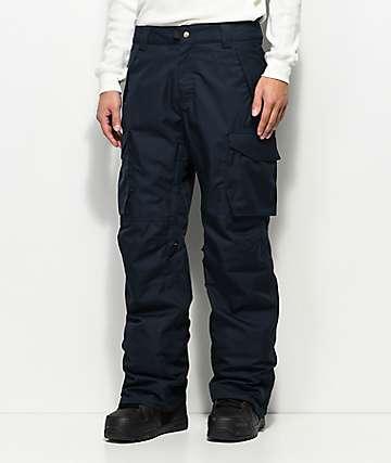 686 Infinity Cargo Navy 10K Snowboard Pants