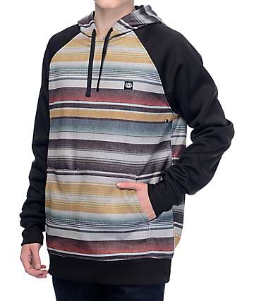 686 Knockout Blanket Pattern Tech Fleece Hoodie