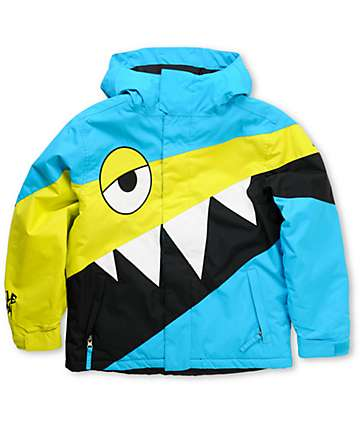 686 Mannual Snaggletooth Boys 5K Snowboard Jacket