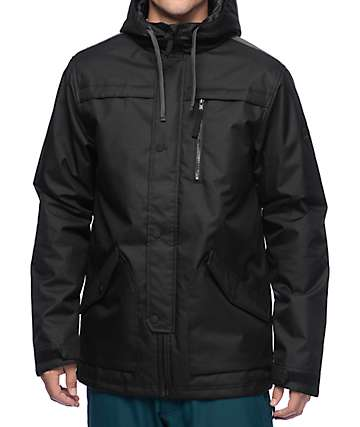 686 Parklan Flight Black Insulated Jacket