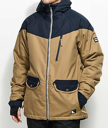 686 Piano Khaki 15K Snowboard Jacket